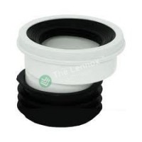 Flexible Toilet Pan  Convertor 20mm Off Set