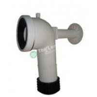 Flexible Toilet Pan Convertor 140-190mm Off Set