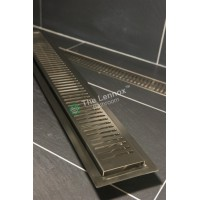 Shower Grate Stainless Steel 1000mm