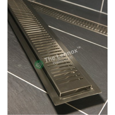 Shower Grate Stainless Steel 1200mm