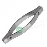 Shower glass door handle - 145mm Classic tube