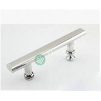 Shower glass door handle - 145mm Flat tube