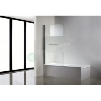 Bath Screen - Semi Series 900mm Swing Screen Frosted Glass