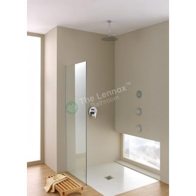 Shower Glass - Stream Series Side Panel (870X1950mm)