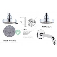 Shower Rose - Wall Mount Arm Round H4563
