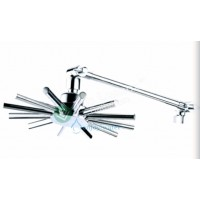 Shower Rose - Wall Mount Arm Round L9055