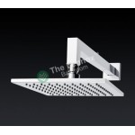 Shower Rose - Wall Mount Arm Square 1089