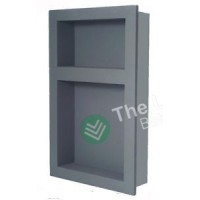 Preformed Double Recessed Shower Niche 410X660 - Ready to Tile & Waterproof DL700