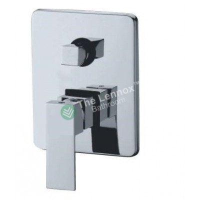 Bath Mixer With Diverter Square L005D