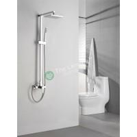 Shower Mixer Combination Square L004