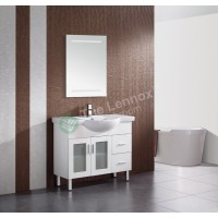Vanity - Catania Series 750 White Factory Second Clearance Sale