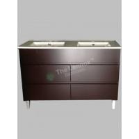 Vanity - Heron Series N1200F Coffee Double Basin