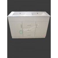 Vanity - Misty Series 1200F White Double Display special