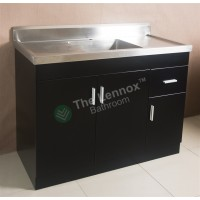 Sink Cabinet - Sepia 1200 Black