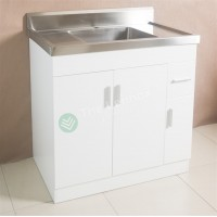Sink Cabinet - Sepia 900 White