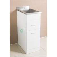 Sink Cabinet - Sepia 350 White
