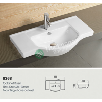 Ceramic Cabinet Basin - Round Series 800