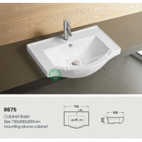 Ceramic Cabinet Basin - Round Series 700