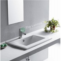 Ceramic Cabinet Basin - Rectangle Series 600