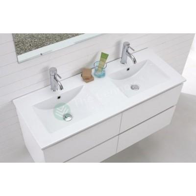 Vanity - Asron Series 1200mm White Double