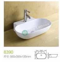 Counter Top Ceramic Basin 8390