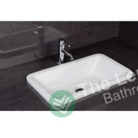 Ceramic Inset Vanity Counter Top Basin Sink 550mm