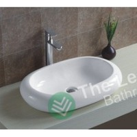 Counter Top Ceramic Basin KY114 - Oval