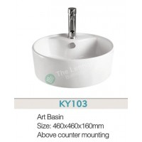 Counter Top Ceramic Basin A003
