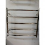 Heated Towel Rail  5 Bar Round