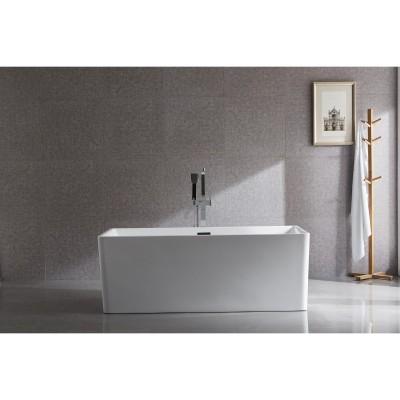 Free Standing Acrylic Bath Square 6813B 1500mm
