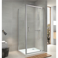 Shower Box - Hydro Series 2 Sides (1000x1000x1950mm) Pivot Door