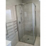 Shower Glass - 2 Side Frameless Shower (900x2000mm)