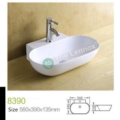 Counter Top Ceramic Basin 8390