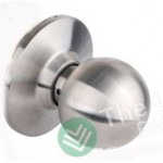 Door Lock Knob Satin Stainless Steel - Dummy