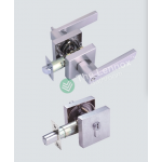 Door Lock Lever Satin Nickel - Front Door Entrance Set