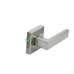 Door Lock Lever Satin Nickel - Dummy