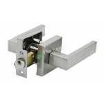 Door Lock Lever Satin Nickel - Passage