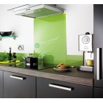 Glass Splash Back 900x750mm Green