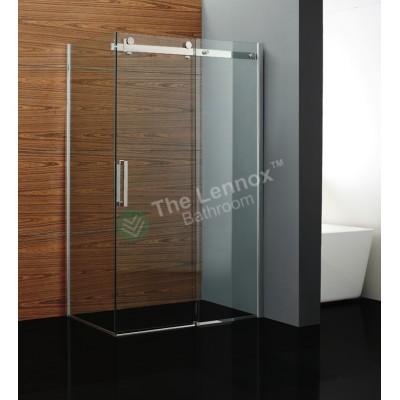 Shower Box - Rock Series 2 Sides Frameless Glass (1180x870x2000mm)