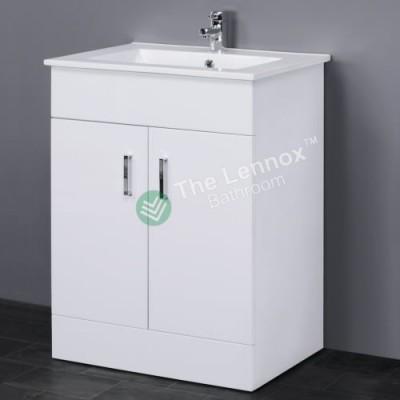 Vanity - Misty Series T600FS White