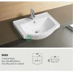 Ceramic Cabinet Basin - Round Series 600