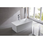 Free Standing Acrylic Bath Square 6849B 1700mm