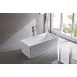 Free Standing Acrylic Bath Square 6849B 1700mm