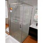 Shower Glass - 2 Side Frameless Shower (1000x2000mm)