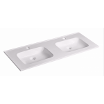 Ceramic Cabinet Basin - Elite Series 1200 Double