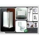 Bathroom Combo With Asron 900mm Wall Hung Vanity