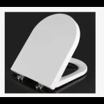 Euro  soft close wrapover toilet seat cover - S3958