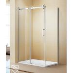 Shower Glass - Kora Series 2 Sides Frameless Glass (1000x800x1900mm)