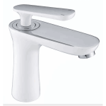 Basin Mixer - Hola Series BW01(chrome and white )
