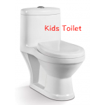 Children sanitary ware small size washdown one piece kid toilet - P Pan